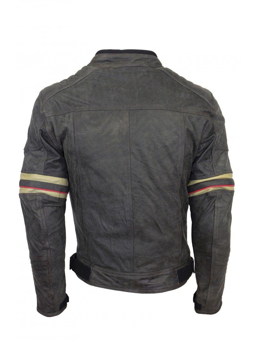 Blusão motard MARVIN