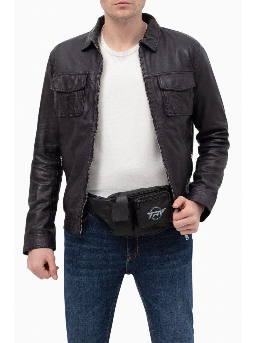 Bolsa de cintura motard
